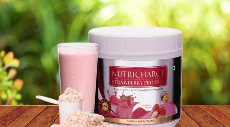 Nutricharge Strawberry Prodiet - benefits, ingredients, price