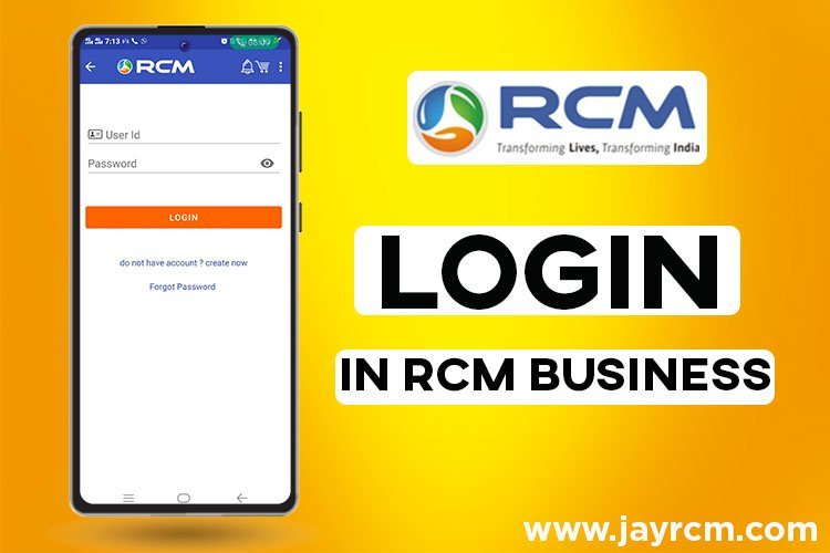 Login in rcm business - login, forget password, rcm id