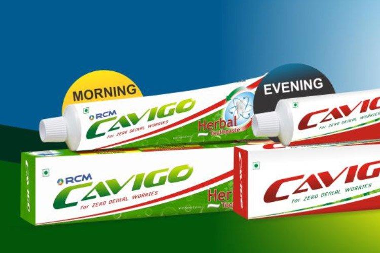Rcm Cavigo Toothpaste  - Herbal toothpaste no extra fluoride
