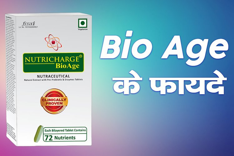 Nutricharge Bio Age Benefits