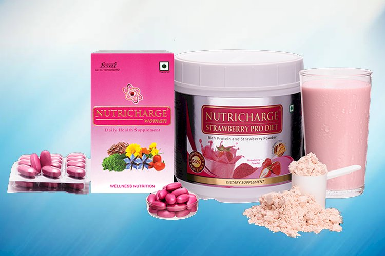 Nutricharge Strawberry Prodiet Benefit